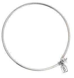 Waxing Poetic Bangle Bracelet - Sterling Silver
