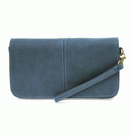 Joy Susan - Pacific Blue Mia Multi Pocket Crossbody Clutch