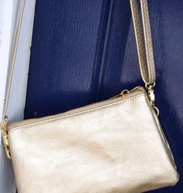 Caroline Hill Liz Crossbody Bag - Gold