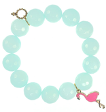 PowerBeads by Jen - Jade with Flamingo Attachment