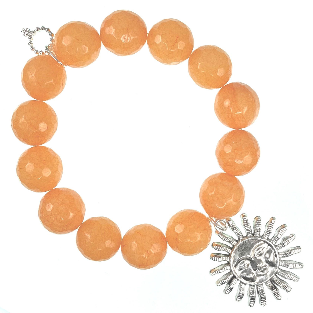 PowerBeads by Jen - Agate with Sun Attachment