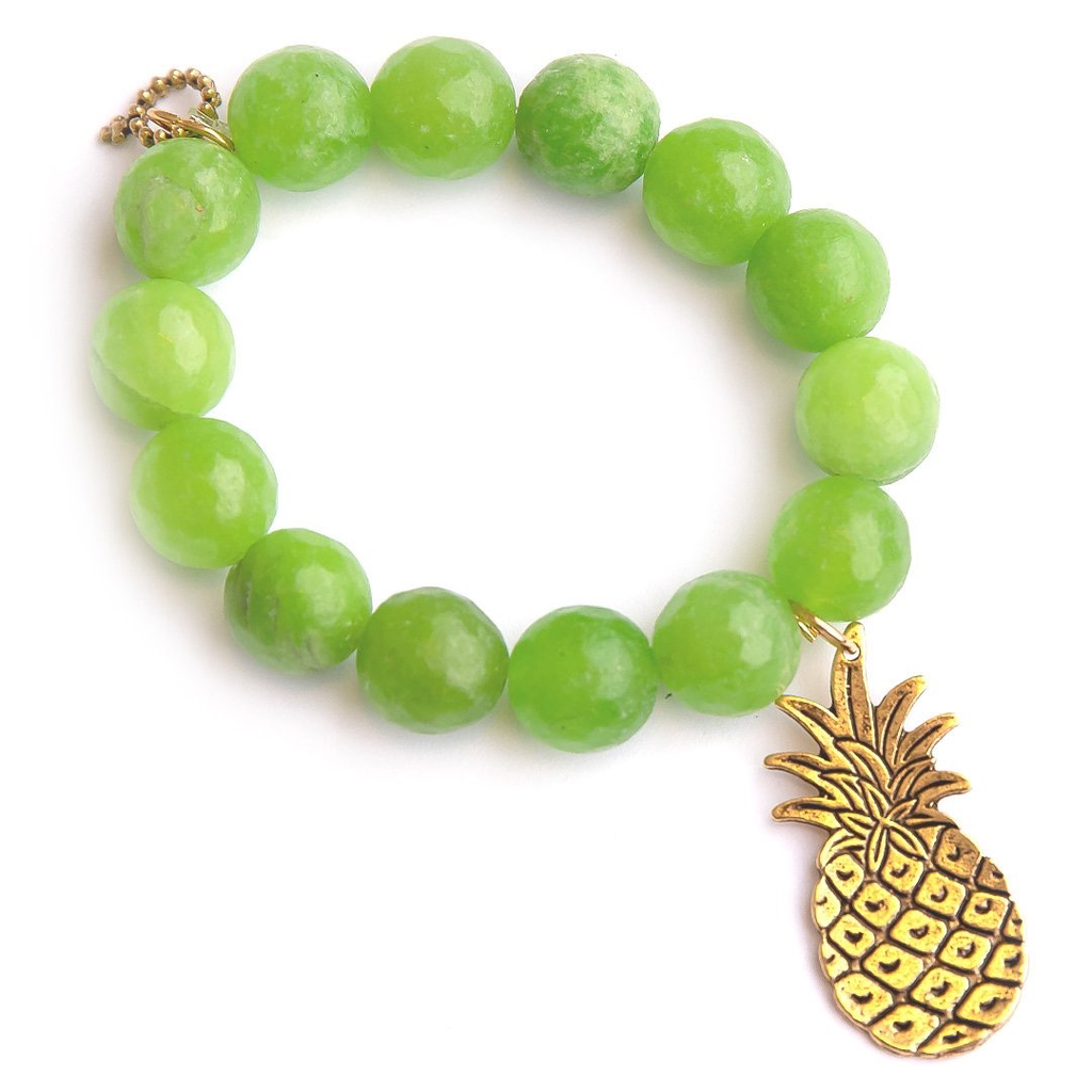 PowerBeads by Jen - Agate with Pineapple Attachment