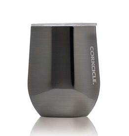 Corkcicle 12 oz. Stemless Gunmetal