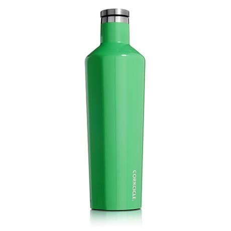 Corkcicle Gloss Caribbean Green Canteen 25 oz.