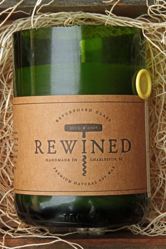 Chardonnay Rewined Candle