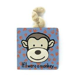 Jellycat Book If I Were A Monkey