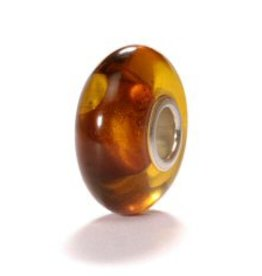 TROLLBEADS - Maple Syrup Bead