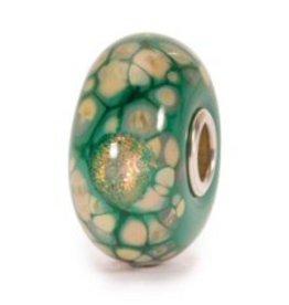 TROLLBEADS - Green Flower Mosaic Bead