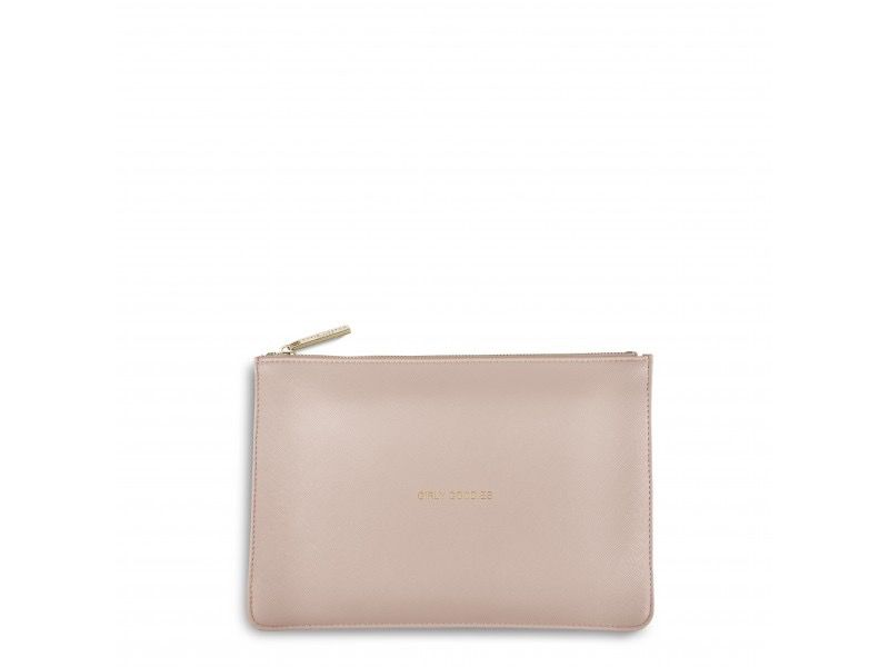 Katie Loxton The Perfect Pouch - Girly Goodies - Pale Pink