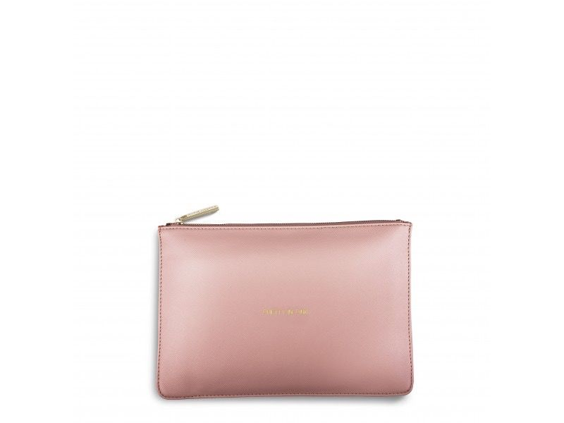Katie Loxton Perfect Pouch - Pretty in Pink- Perfect Pink