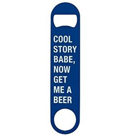 About Face Designs: Cool Story Bottle Opener
