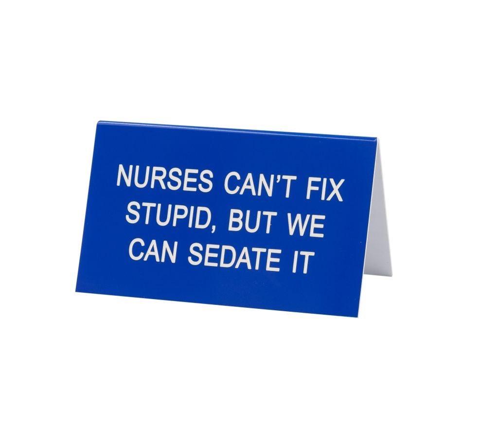 About Face Designs: Nurses Sign