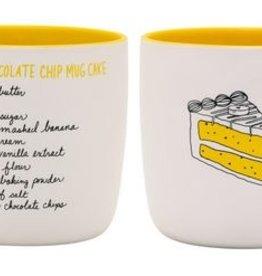 About Face Designs: Banana Chocolate Chip Cake Mug