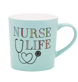 About Face Designs: Nurse Life Mug