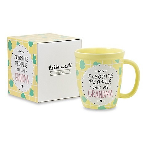 About Face Designs: Call Me Grandma Mug