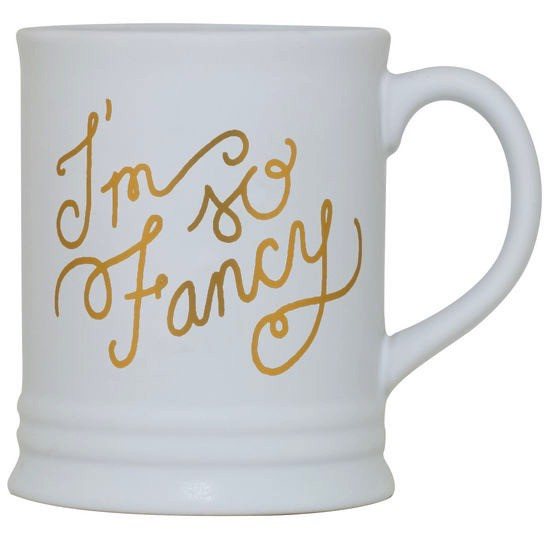 About Face Designs: I'm So Fancy Mug