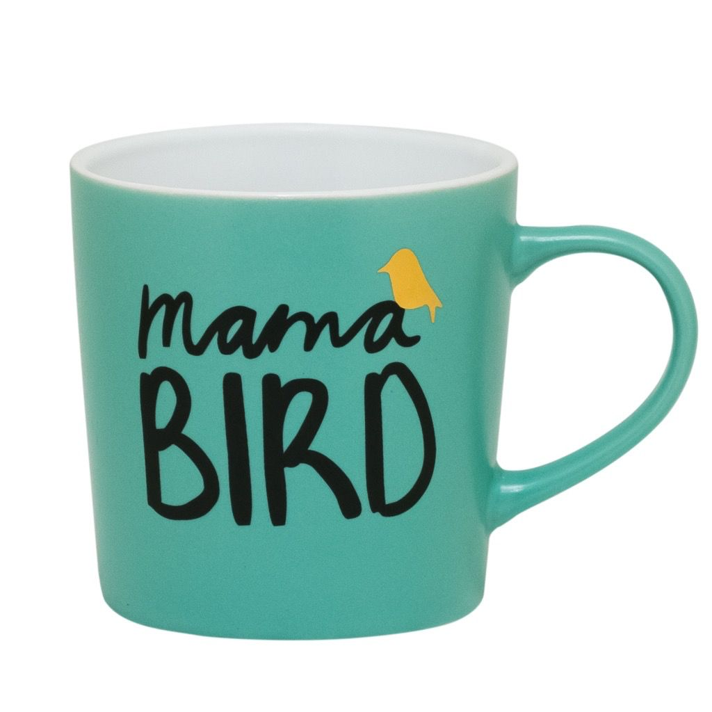 About Face Designs: Mama Bird Mug