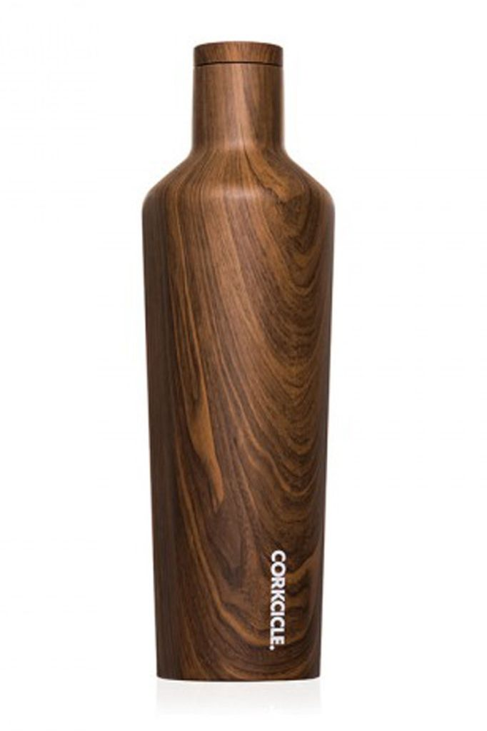 Corkcicle Walnut Wood Canteen 16 oz