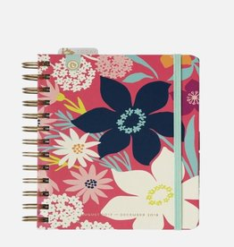 Spartina 449 - Mini Weekly Planner 2017-2018 Pink Meadow
