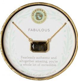 "Spartina 449 Sea La Vie Necklace 17"" Fabulous/Labradorite"