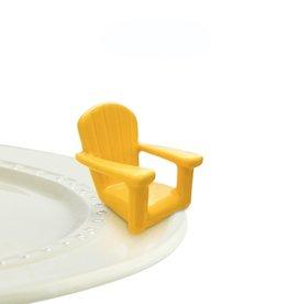 Nora Fleming - Chillin Chair Yellow Mini