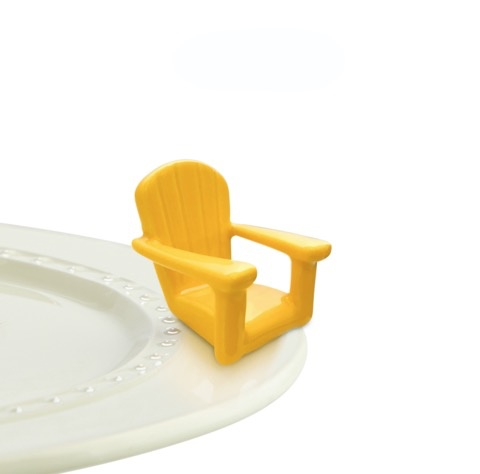 Nora Fleming - Chillin Chair Yellow