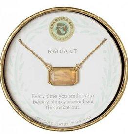 """Spartina 449 Sea La Vie Necklace 17"""" Radiant/Moonstone"""