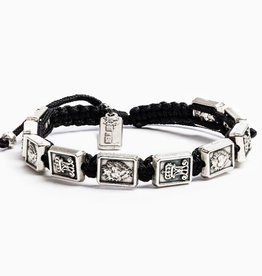 My Saint My Hero - Garment of Grace Scapular Bracelet - Black