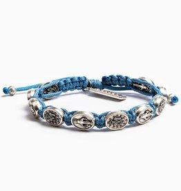 My Saint My Hero - Miraculous Blessing Bracelet Light Blue