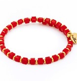 Chrysalis -GAIA Collection-Wrap-Earth-Red Bangle