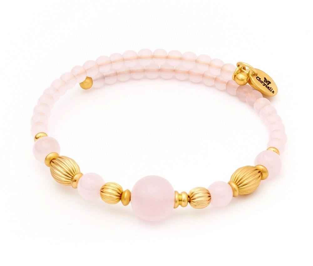 Chrysalis -GAIA Collection-Wrap-Summer-Pink Bangle