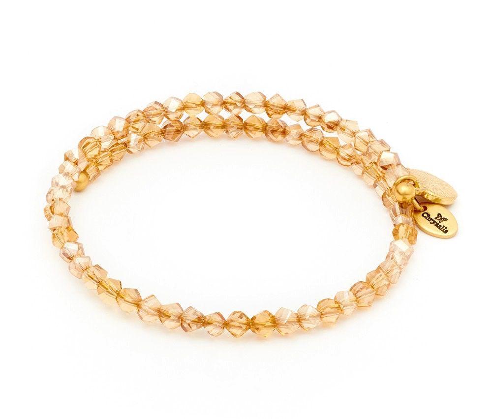 Chrysalis -GAIA Collection-Wrap-Twilight Gold Bangle