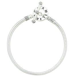 Chamilia Sterling Silver Toggle Bracelet - 7.5