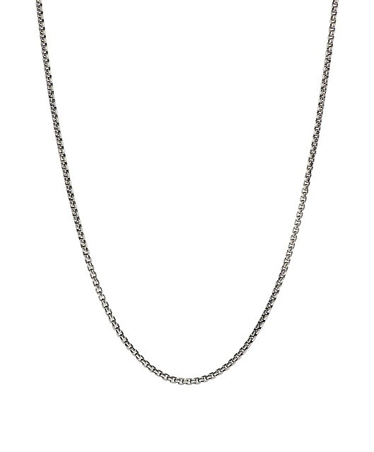 Chamilia Box Chain Oxidized (45.7 cm/18 in)