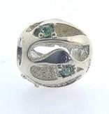 Chamilia Sterling Silver Green Tide