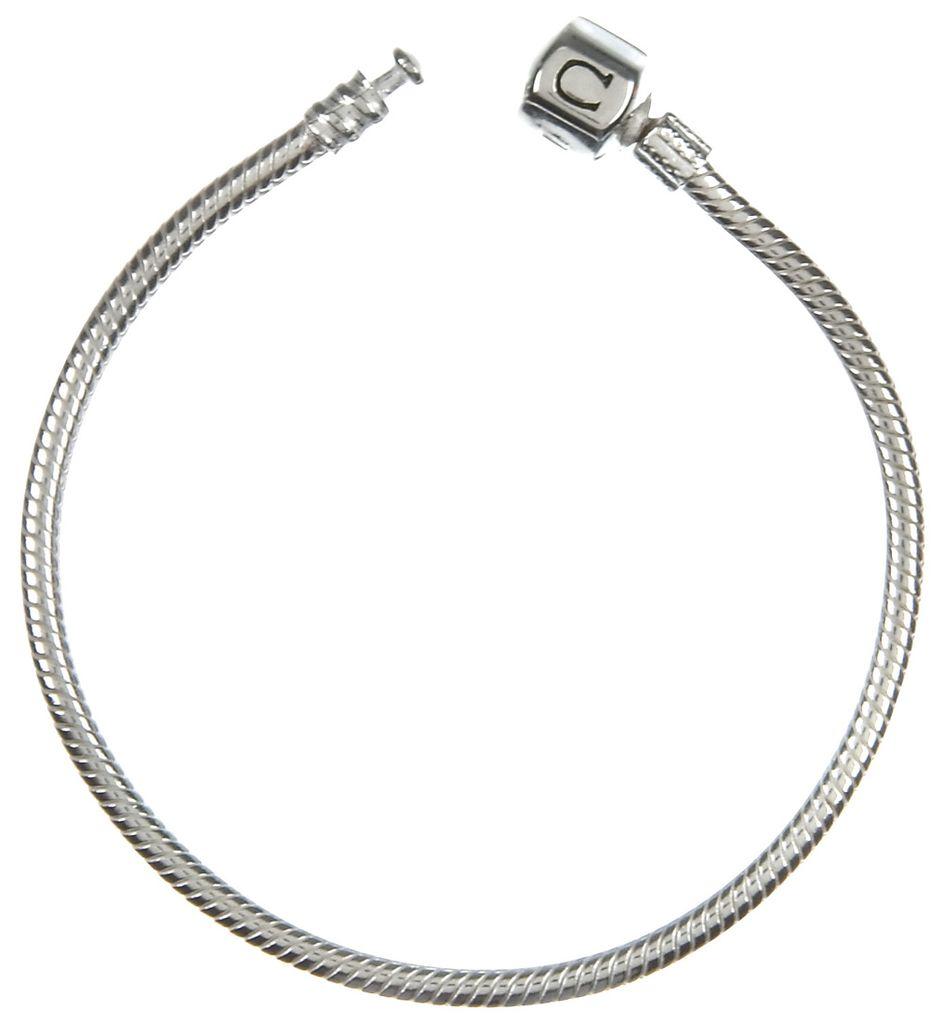 Chamilia Silver Snap Bracelet (18 cm/7.1 in)