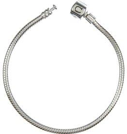 Chamilia Silver Snap Bracelet (17 cm/6.7 in)