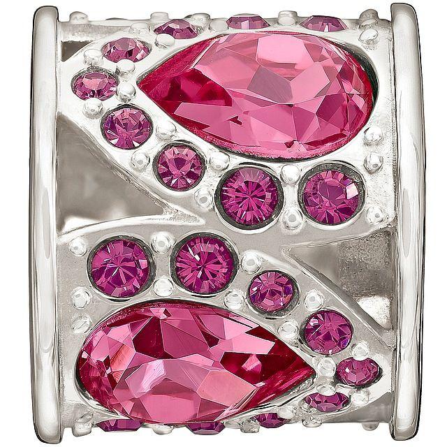Chamilia The Swarovski Collection - Royal Petals - Pink and Purple