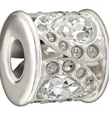 Chamilia The Swarovski Collection - Royal Petals - Black and White