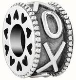 Chamilia XO Wheel-Sterling Silver w/ Lt. Ox