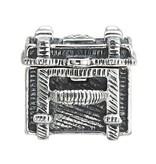 Chamilia Sterling Silver - Steamer Trunk