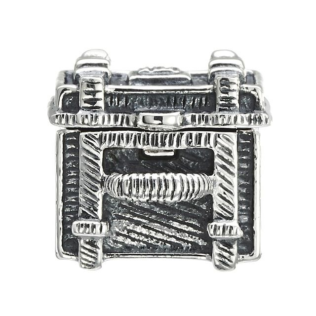 Chamilia Sterling Silver - Steamer Trunk