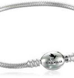 Chamilia Oval Snap Bracelet Sterling Silver 7.9 in