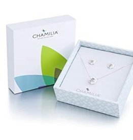 Chamilia Snow Star Necklace & Earrings