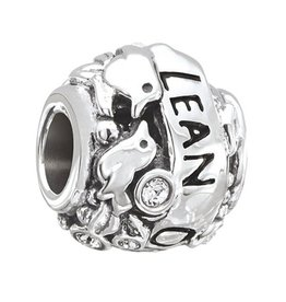 Chamilia Lean on Me - Sterling Silver with Swarovski Crystal