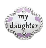 Chamilia My Daughter, My Friend - Sterling Silver