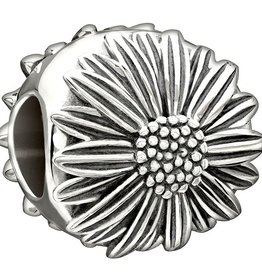 Chamilia Sterling Silver - Flower of the Month - April Daisy