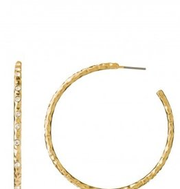 Spartina 449 Southern State of Mind - Fizz Hoop Earrings Crystal