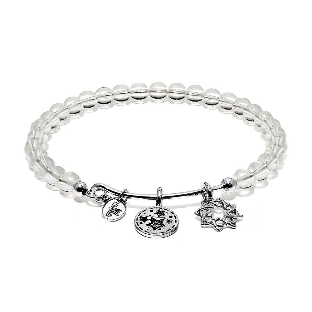 Guardian White Crystal Redemption Bangle