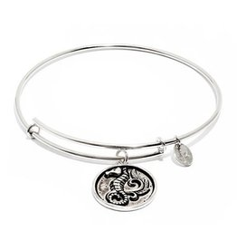 Oceania Collection - Seahorse Expandable Bangle - Silver - Small